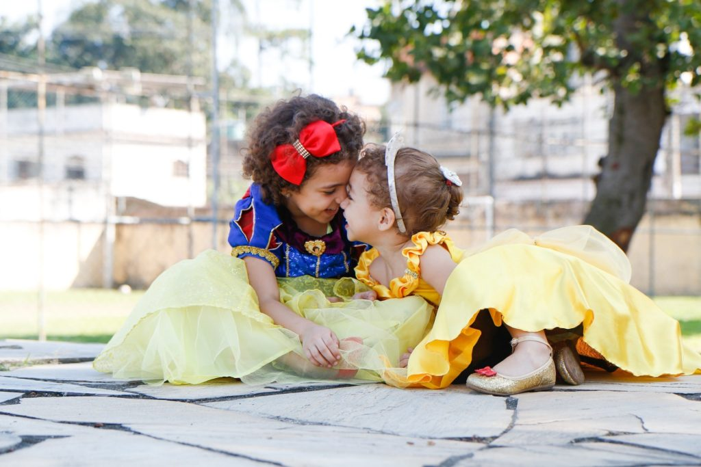 Toddlers at Disney World
