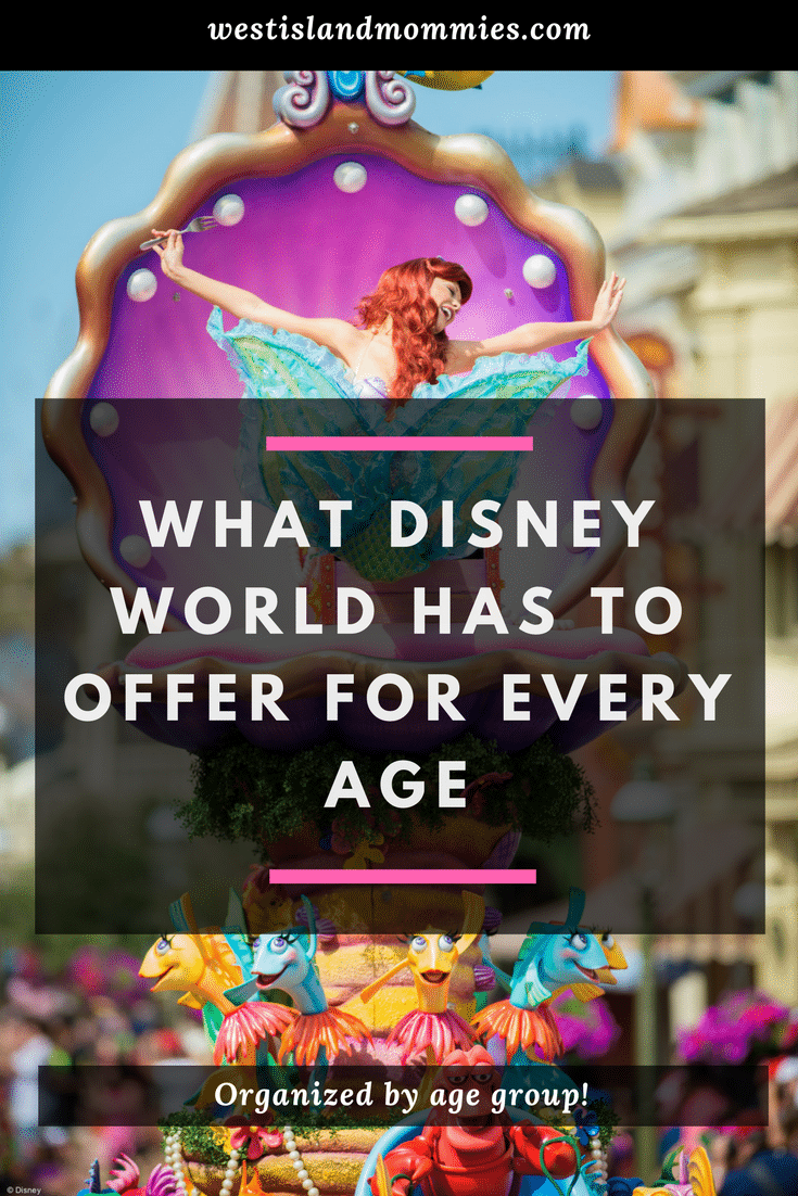 Find out what Disney World has to offer for every age!
