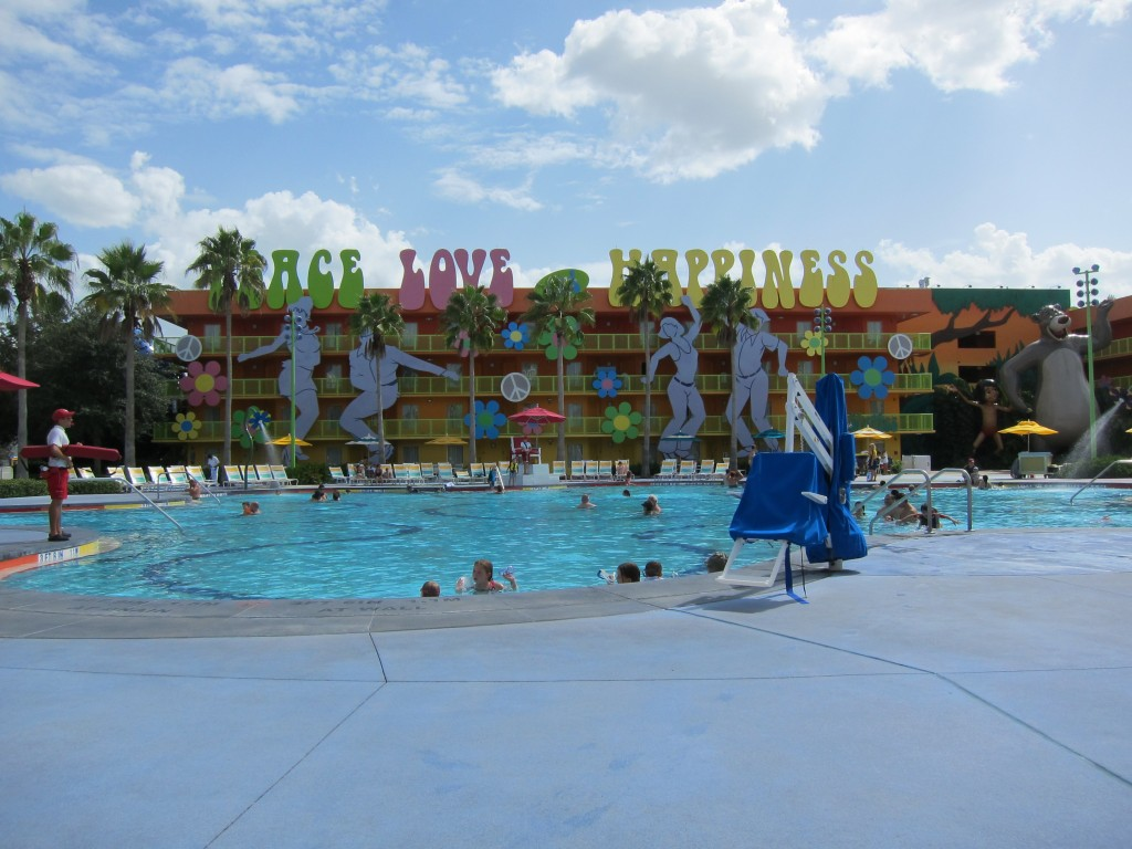 Hippy Dippy Pool at Pop Century